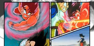 Rivalidade entre Goku e Vegeta em Dragon Ball