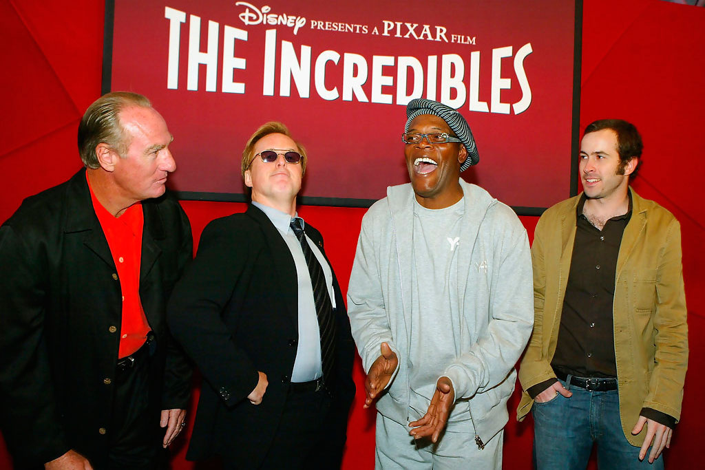 Samuel L. Jackson - Os Incríveis (2004)