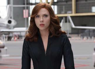Viúva Negra (Scarlett Johansson) Capitão América: Guerra Civil (2016)