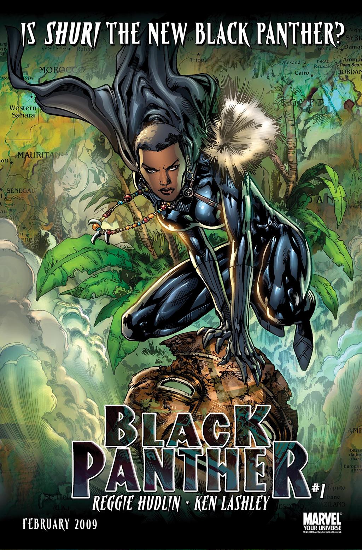 Shuri, a nova Pantera Negra