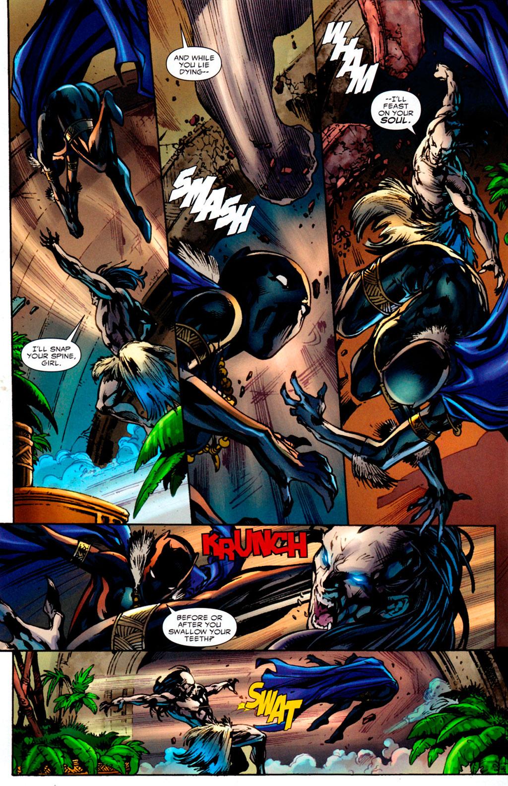 Shuri Pantera Negra x Morlun
