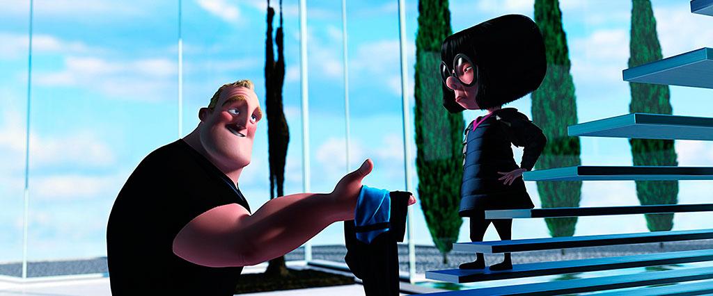 Sr. Incrível e Edna - Os Incríveis (2004)