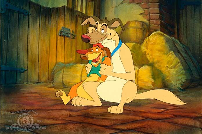 Todos os Cães Merecem o Céu (1989)