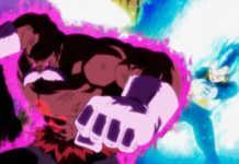 Vegeta vs deus da destruição Toppo Torneio do Poder episódio 126