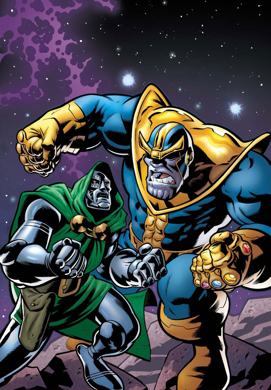 Victor von Doom vs Thanos