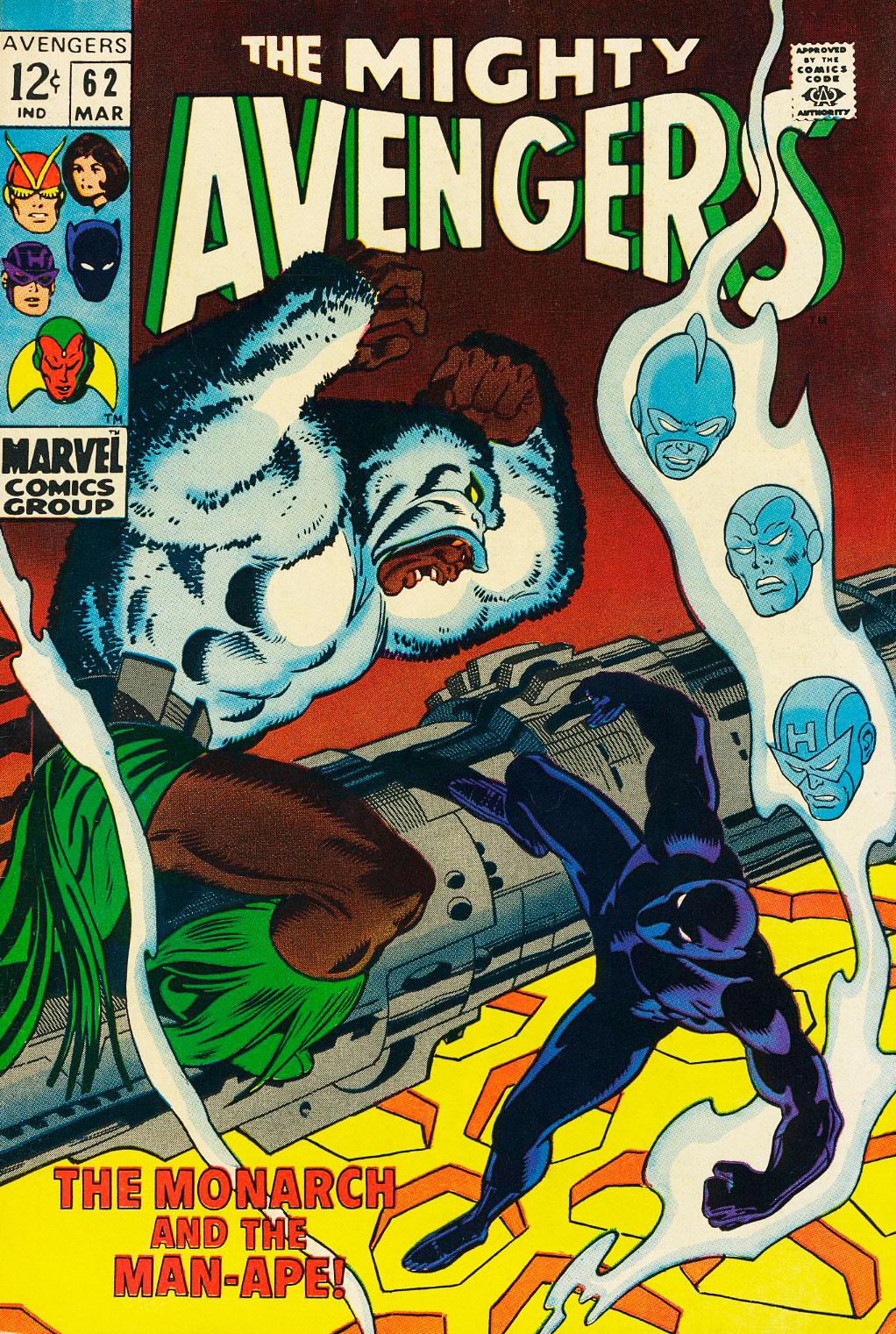 Avengers Vol 1 #62