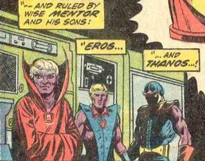 A'Lars, o Mentor pai de Thanos