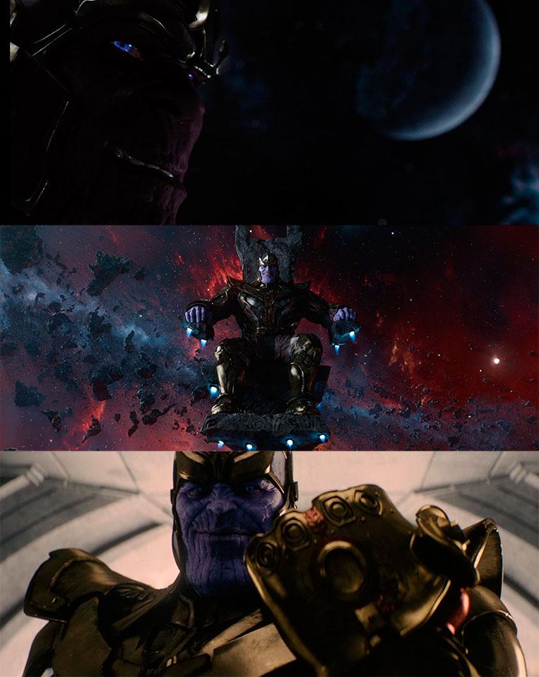 Aparições de Thanos no Universo Cinematográfico Marvel
