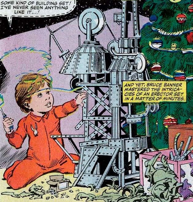 Bruce Banner, gênio desde criança