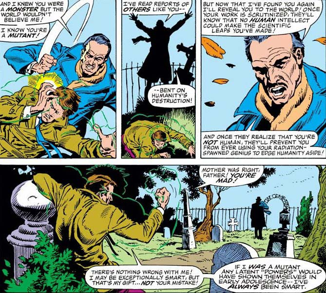 Bruce Banner matou seu pai Brian