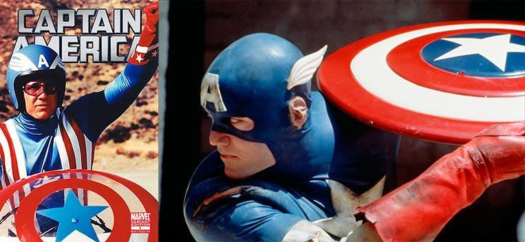 Capitão América (1979) e (1990)