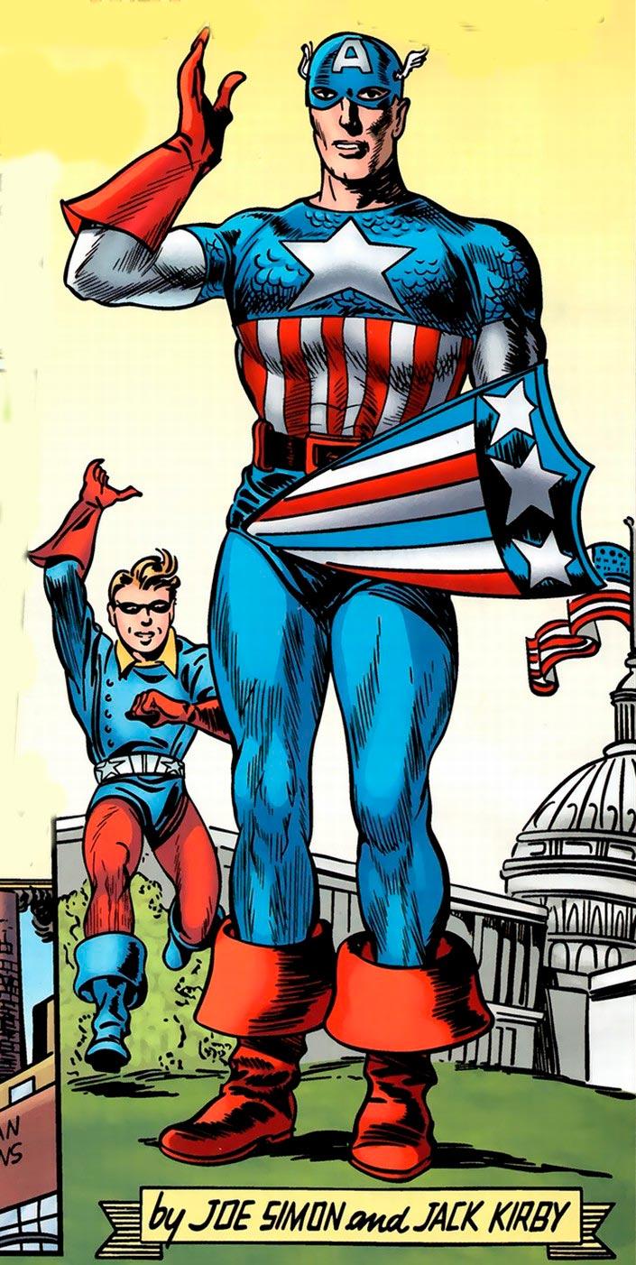 O primeiro escudo do Capitão América