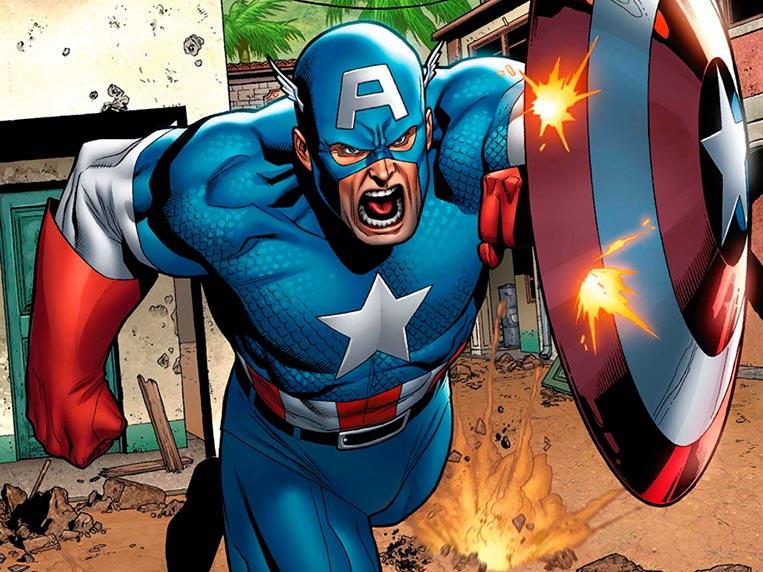 Capitão América superpoderes