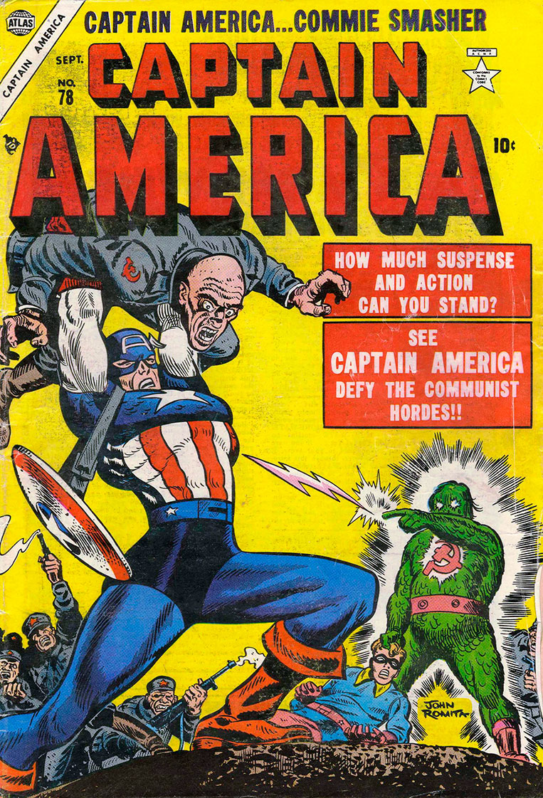 Capitão América X Comunistas