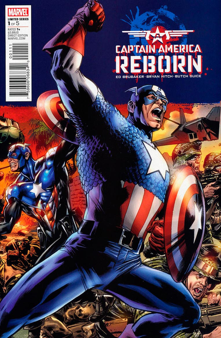 Captain America Reborn #1