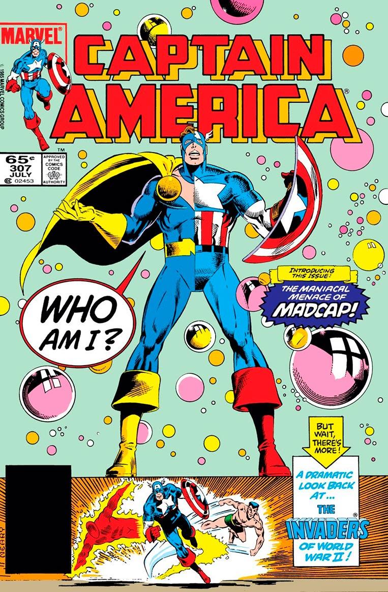 Captain America #307