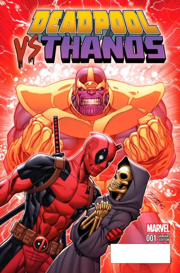 Deadpool vs Thanos 001