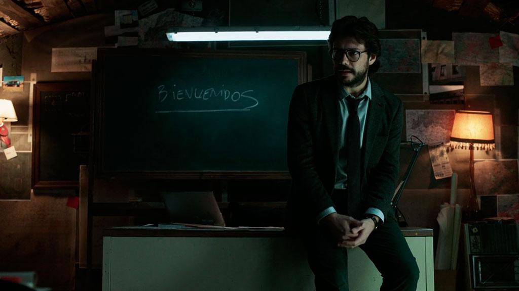 El Profesor La Casa de Papel ep. 1