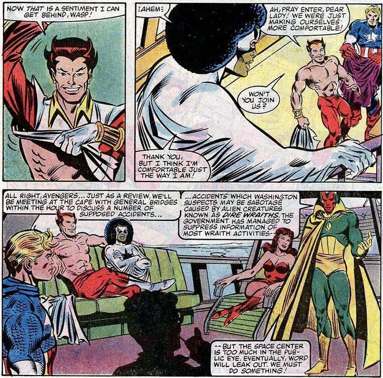 Eros, o irmão de Thanos, Os Vingadores
