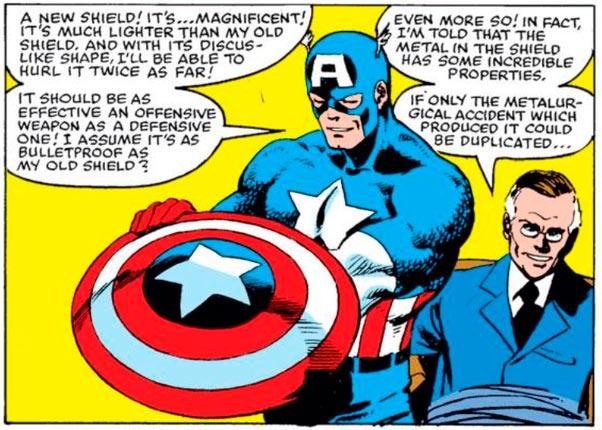 Escudo de Vibranium Capitão América