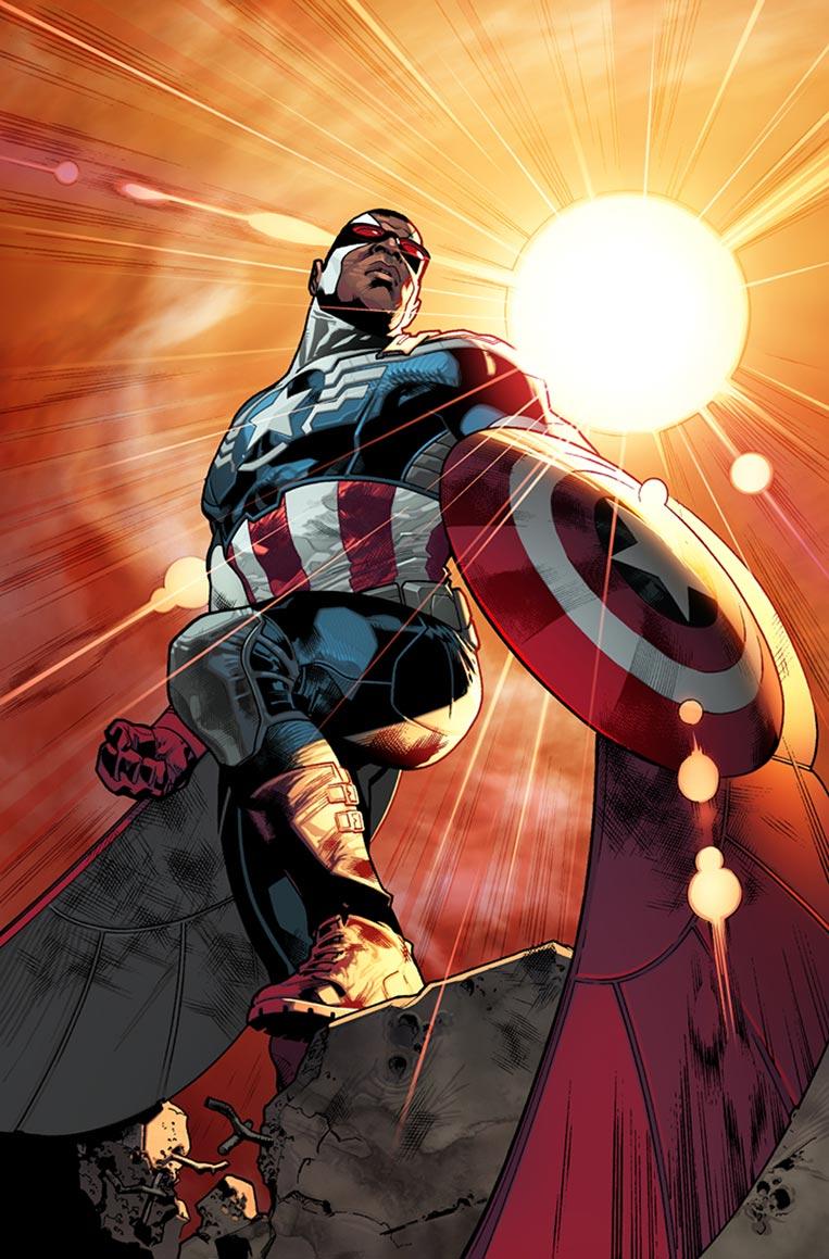 Sam Wilson (Falcão) - Capitão América