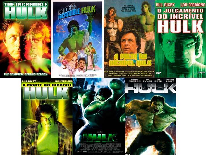 Filmes do Incrível Hulk