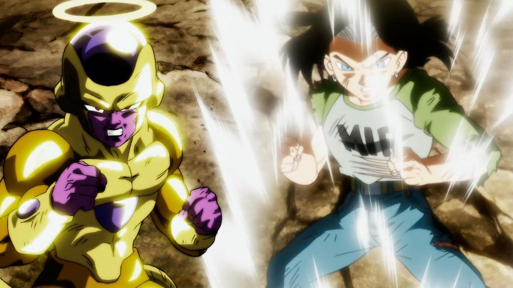 Frieza e Androide 17 Dragon Ball Super episódio 130
