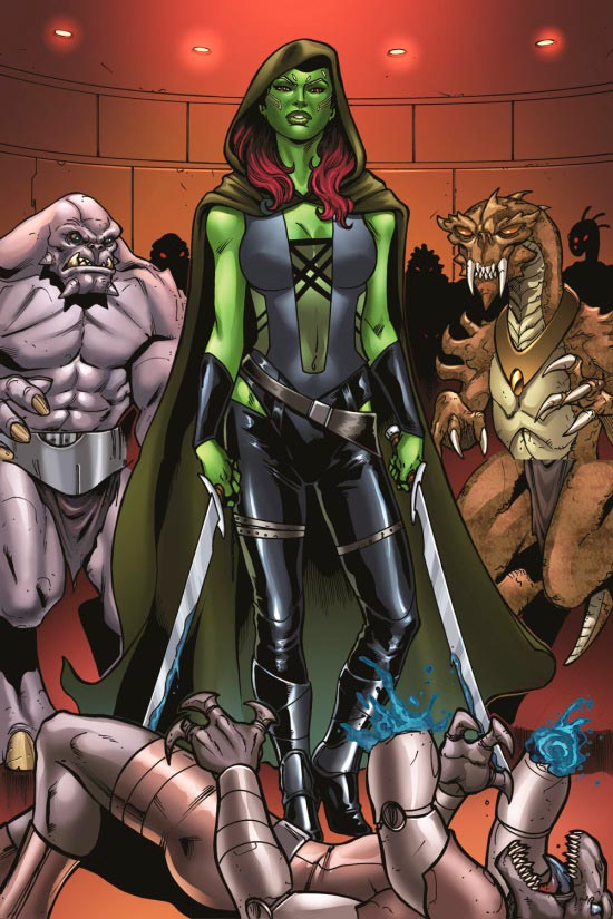 Gamora, filha adotiva de Thanos