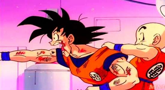 Goku tem medo de injeção