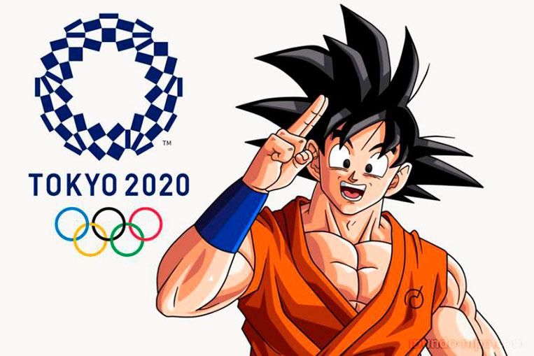 Goku, embaixador dos Jogos Olímpicos de 2020