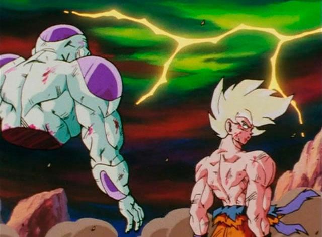 Goku X Frieza em Namekusei