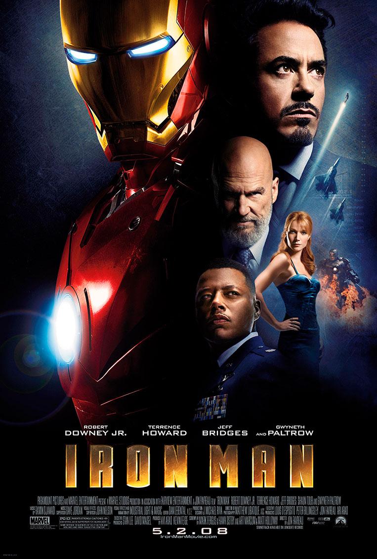 Poster Homem de Ferro (2008)