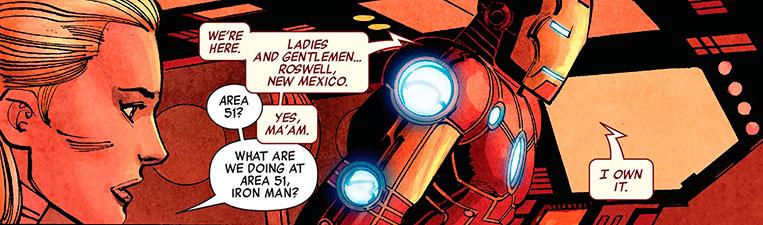 Homem de Ferro Área 51