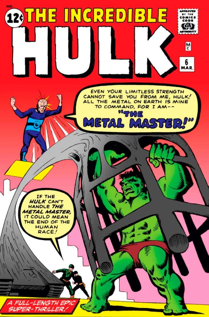 Incrível Hulk Vol. 1 #6 de 1963