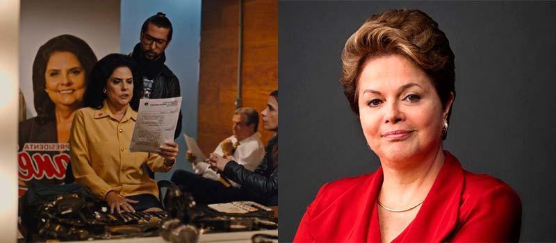 Janete Ruscov (Sura Berditchevsky) é inspirada em Dilma Rousseff - O Mecanismo