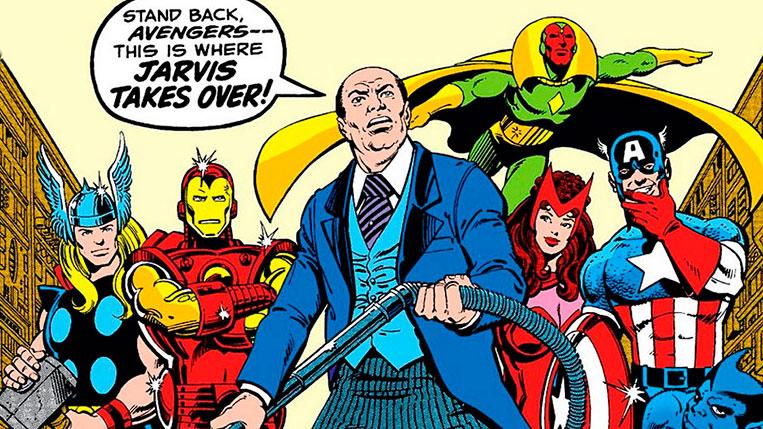 Edwin Jarvis Marvel Comics