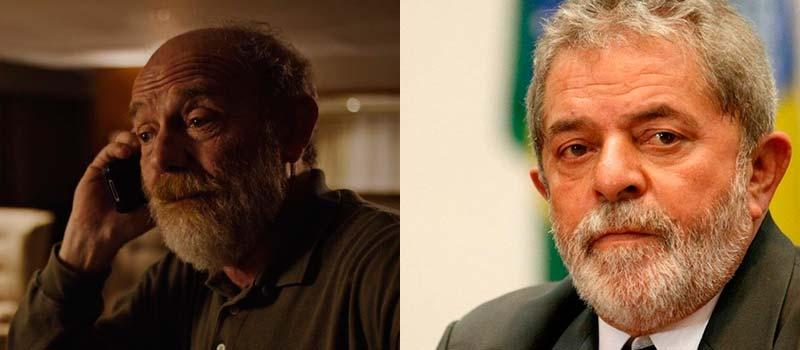 João Higino (Arthur Kohl) é inspirado em Luiz Inácio Lula da Silva - O Mecanismo