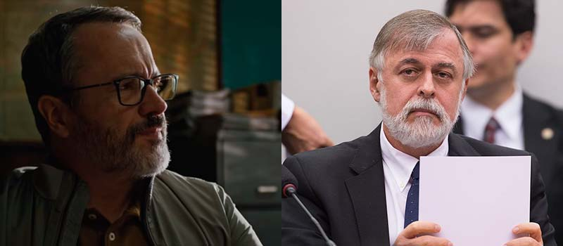 João Pedro Rangel (Leonardo Medeiros) é inspirado em Paulo Roberto Costa - O Mecanismo