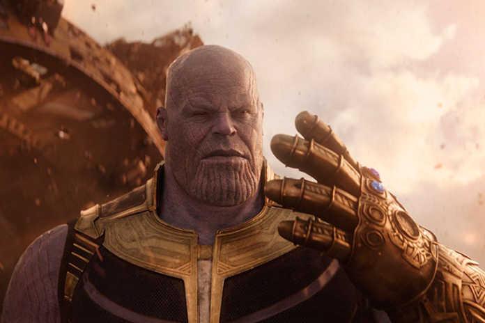 Thanos (Josh Brolin) Vingadores: Guerra Infinita (2018)