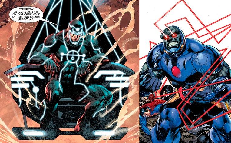 Metron e Darkseid DC Comics, inspirações para Thanos