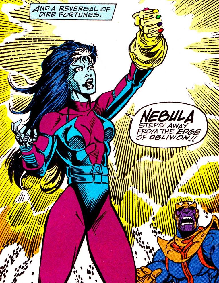 Nebulosa rouba a Manopla do Infinito de Thanos
