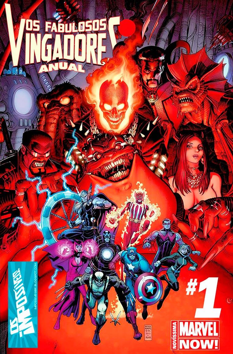 Os Fabulosos Vingadores #1