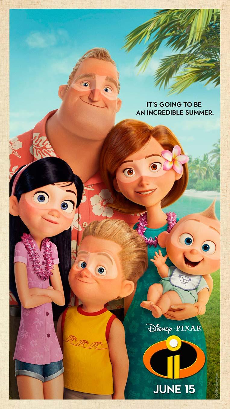 Poster Os Incríveis 2 Verão