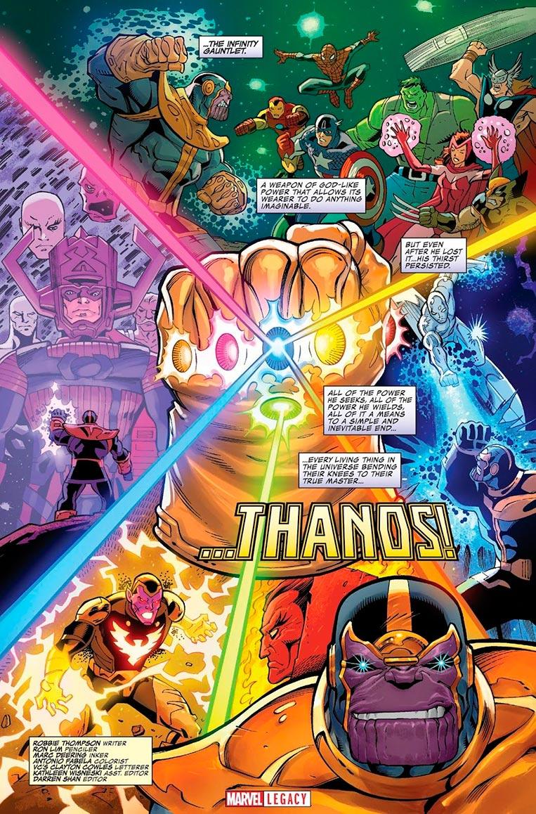 Thanos - Poderes e habilidades