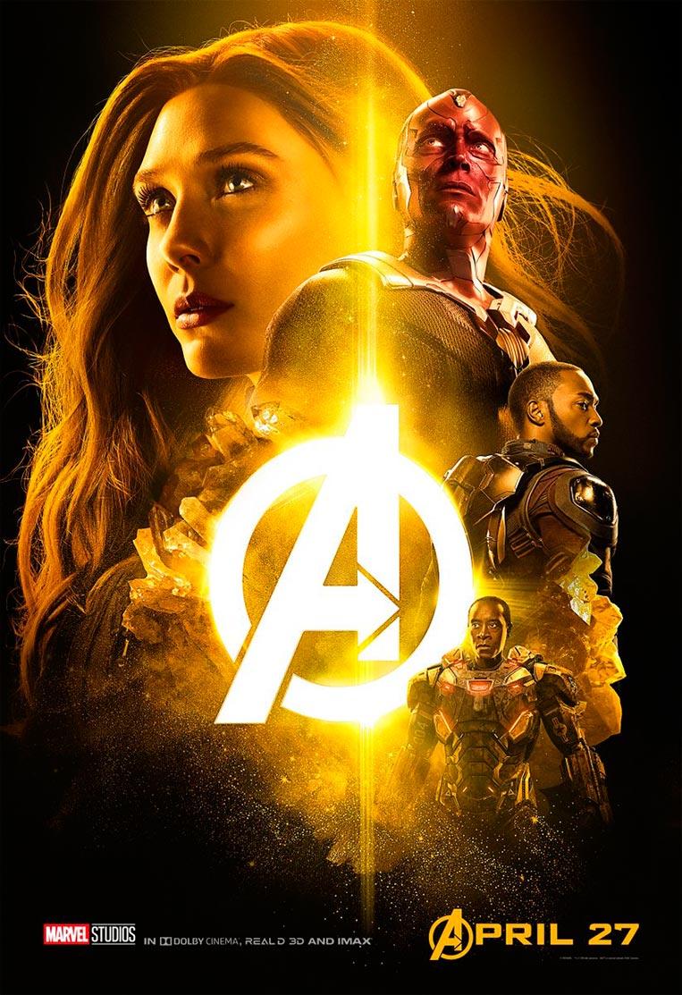 Poster Vingadores: Guerra Infinita 01