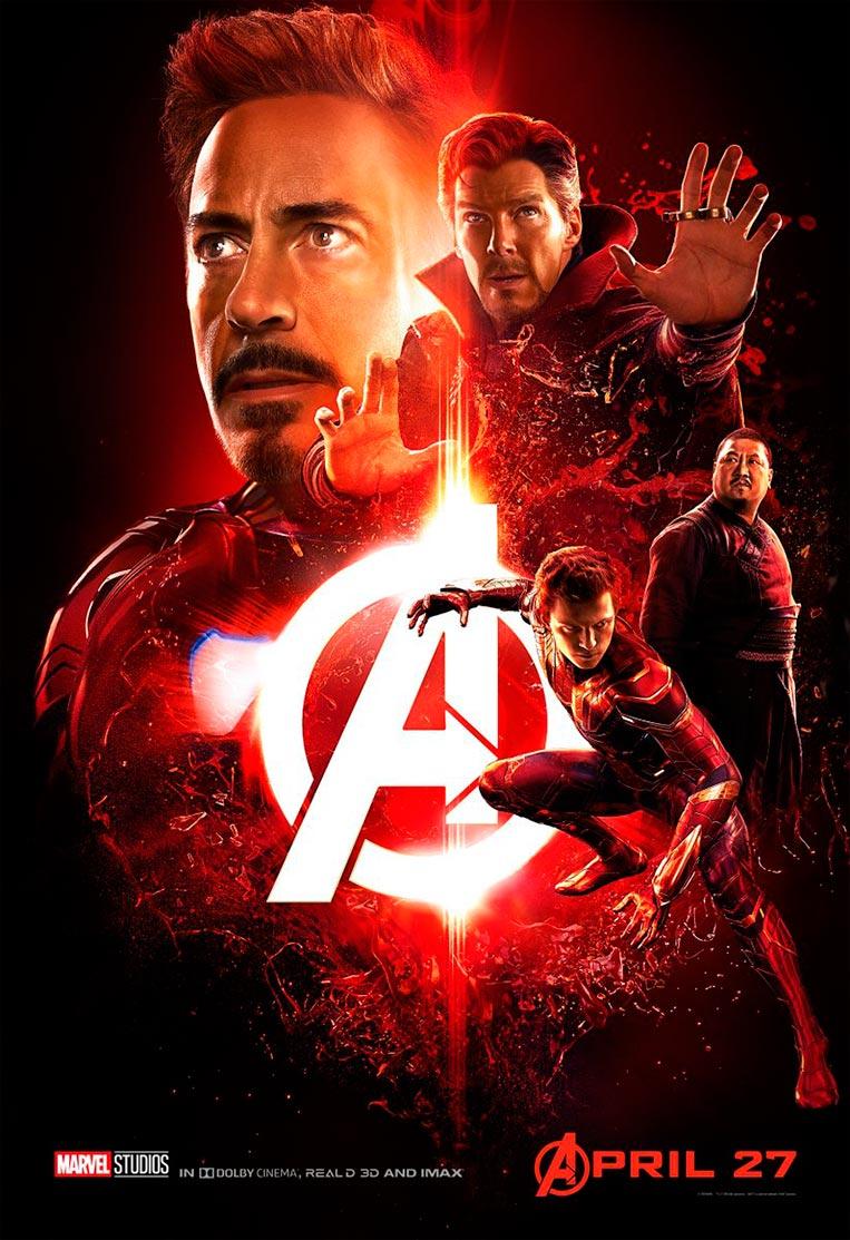 Poster Vingadores: Guerra Infinita 02