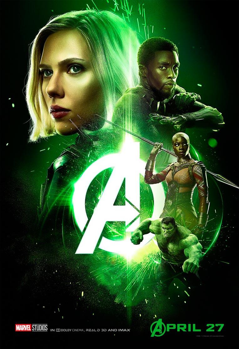 Poster Vingadores: Guerra Infinita 03