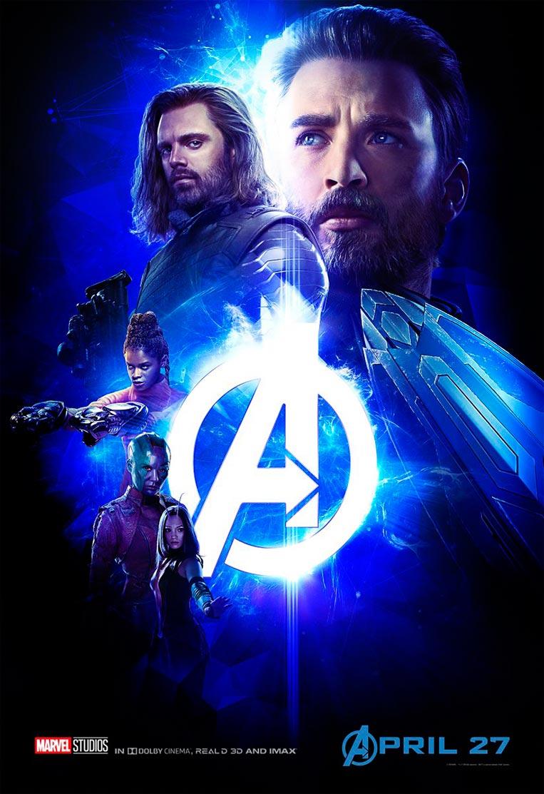 Poster Vingadores: Guerra Infinita 04