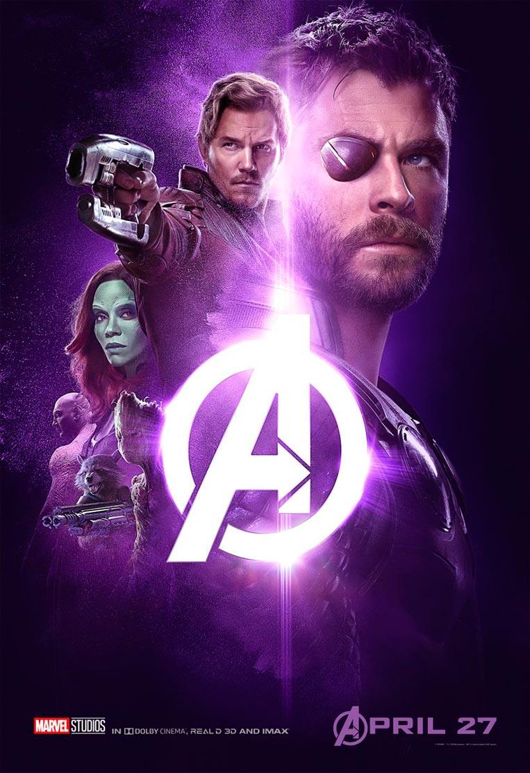 Poster Vingadores: Guerra Infinita 05