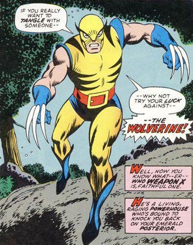 Primeira aparição do Wolverine, Incrível Hulk Vol. 1 #180